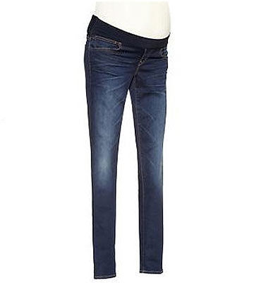 BEST FOR: The on-trend details of these jeans will make you feel like the cool mom you already are. LOVED FOR: The secret belly waistband can be folded down or worn over your belly for support. Secret fit belly waistband can be folded down on worn over the belly for additional support.