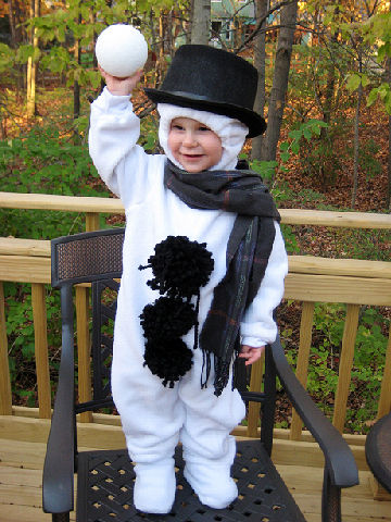 snowman halloween costume - Child Halloween Costumes Homemade