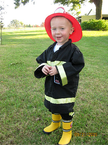 fire fighter halloween costume - Child Halloween Costumes Homemade