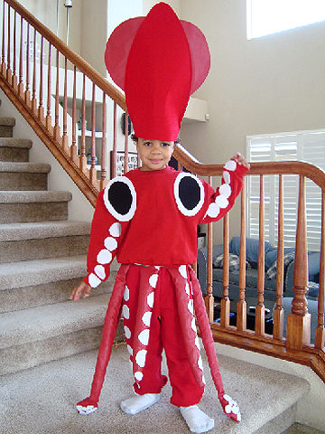 squid Halloween costume