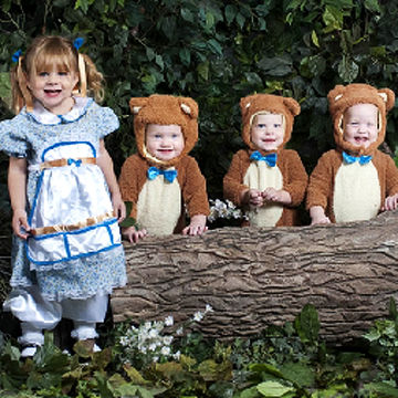 goldie and three bears halloween costume - Goldilocks Halloween Costumes