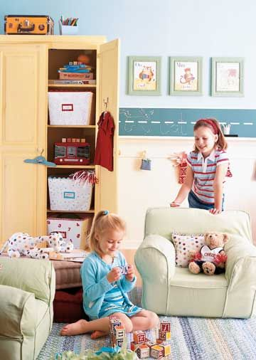 Back-to-School Playroom