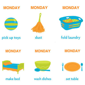 chores for busy toddlers