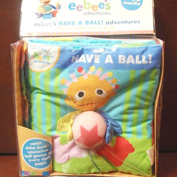 """eebee's """"Have a Ball"""" Adventures Cloth Books"""