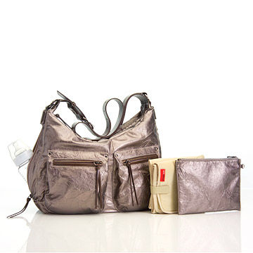 StorkSak Emily Bag in Pewter