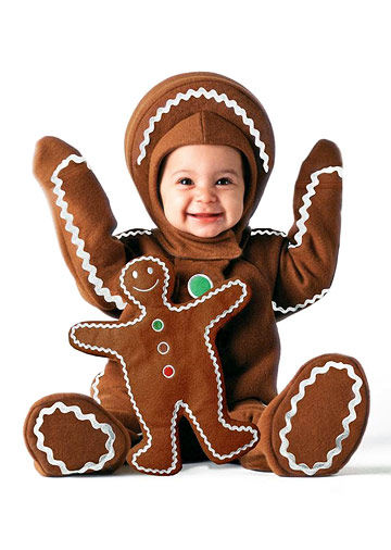 Gingerbread Baby Costume