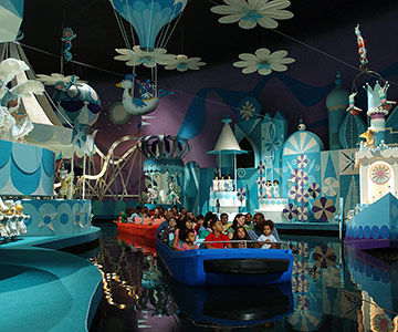 The popular It's a Small World ride