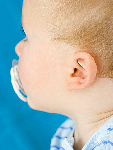 Nose drainage from ear infection