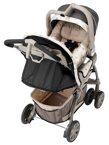 Evenflo, Journey Travel System, gray, congo style