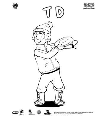 Martha Speaks Coloring Pages - Martha-speaks-coloring-pages