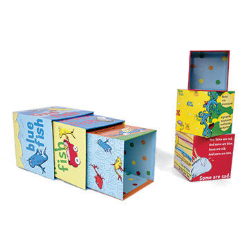 "Dr. Seuss ""One Fish"" Stacking Blocks"