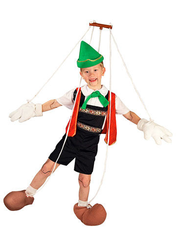 Pinnochio Costume