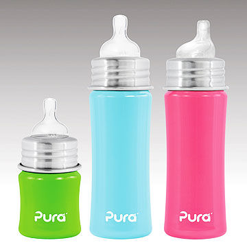 Pura Kiki's stainless travel bottles