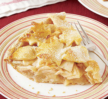 Gingery Apple Pie