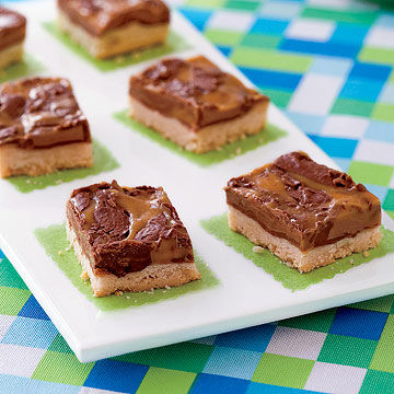 Candy-Topped Shortbread Bars