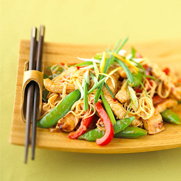 Lemon-Ginger Pork Stir-Fry