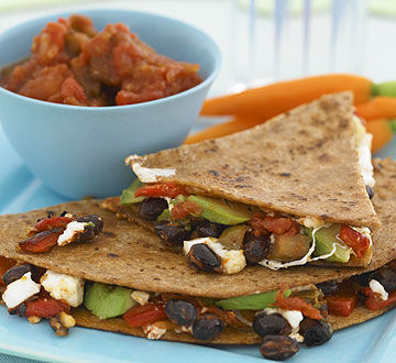 Cheesy Veggie Quesadilla