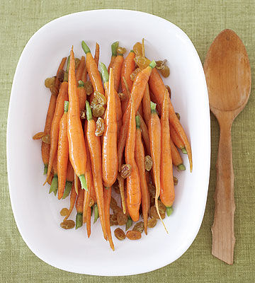 Glazed Carrots with Ginger