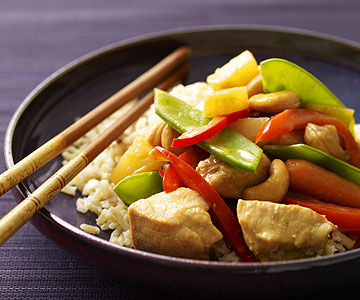 Slow-Cooker Chicken with Cashews