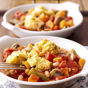 Veggie Stew with Dumplings