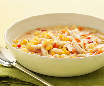 Slow Cooker Corn and Crab Chowder