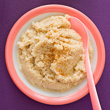 Apple Walnut Baby Puree