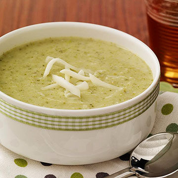 Cheesy Broccoli & Potato Soup