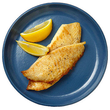 Broiled Fish With Lemon