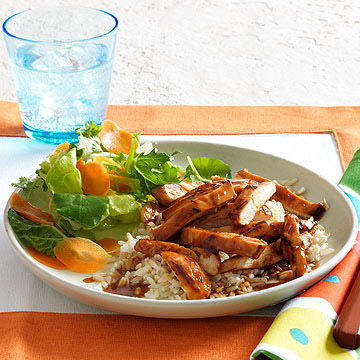 Honey-Hoisin Chicken With Rice