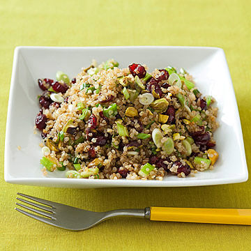 Toasted Quinoa with Cranberries