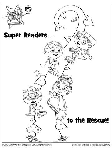 super why coloring pages free - photo#23