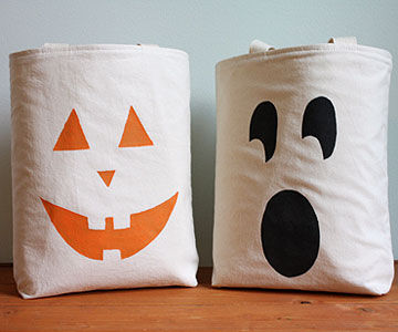 jack o lantern treat bags - Halloween Treat Holders