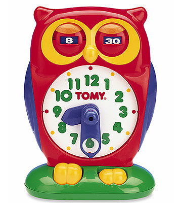 Tick Tock Learn to Tell Time Clock