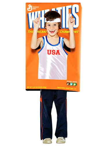 Wheaties Box Costume