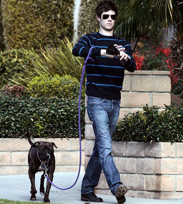 Adam Brody and Penny Lane