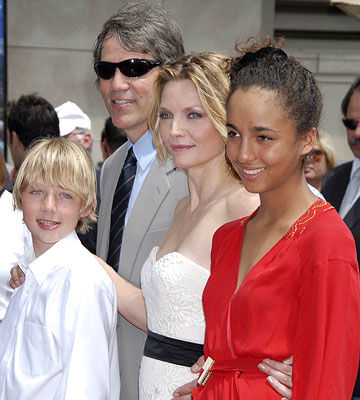 Michelle Pfeiffer and family
