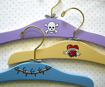 Lady Bug Art Pretty Punk hangers