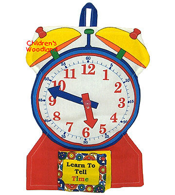 Learn to Tell Time Soft Clock