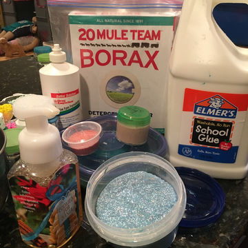 how to make slime with pva glue and borax