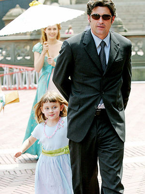 Patrick Dempsey and daughter