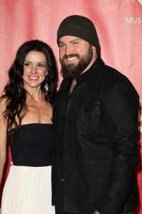 Shelly and Zac Brown