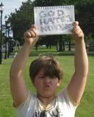 9-Year-Old to Protesters: 'God Hates No One' 29663