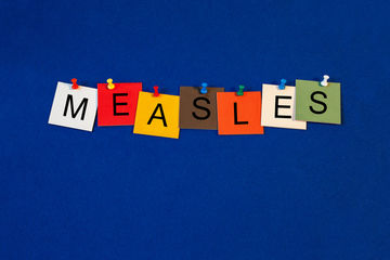 Measles sign