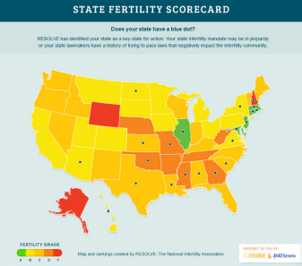 Is Your State Affecting Your Chances of Getting Pregnant?