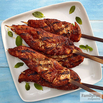 Moroccan-Spiced Skewers recipe image