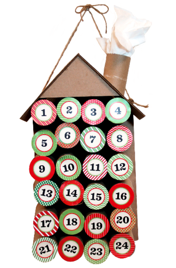 Make Your Own Advent Calendar To Countdown The Days Til