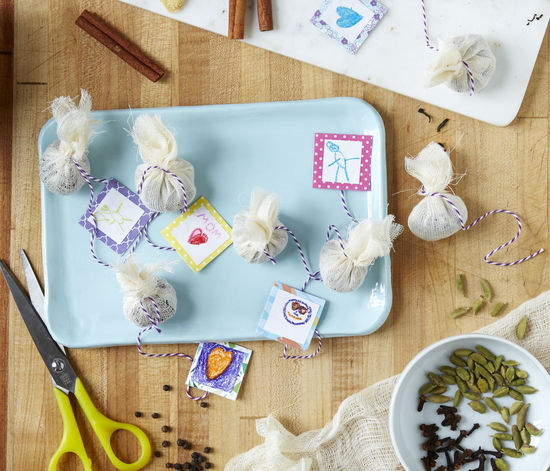 Edible Gifts Homemade Chai Tea Sachets