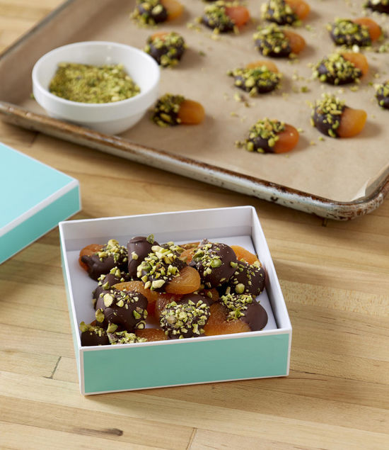Edible Gifts Candied Pistachio Apricots