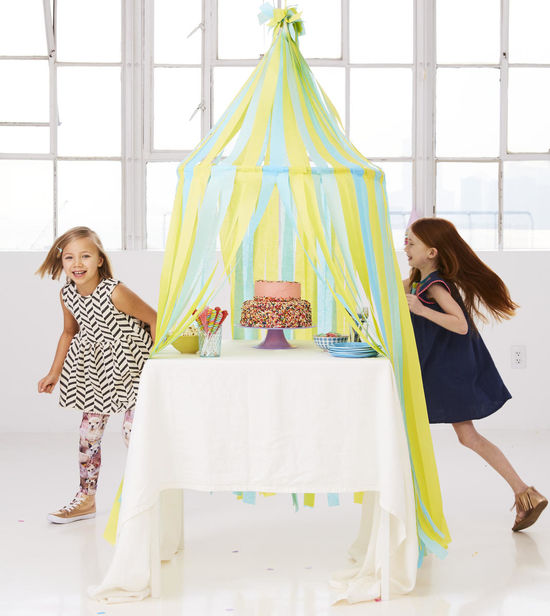 Birthday Craft Dreamer Streamers Make A Tent