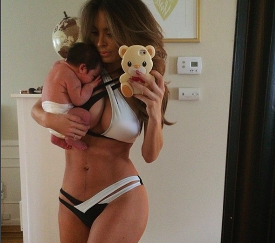 Model Mom Says She Lost All Her Baby Weight In 2 Weeks